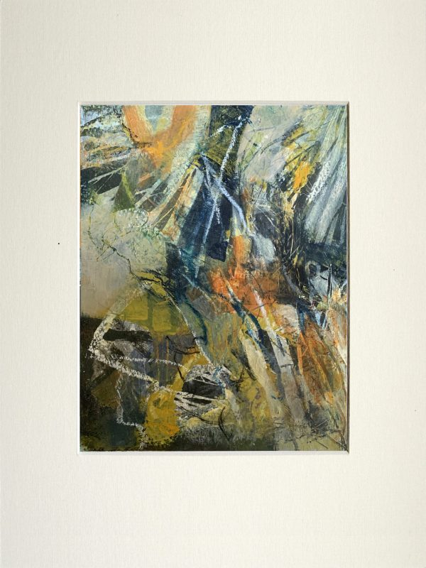 abstract landscape walk