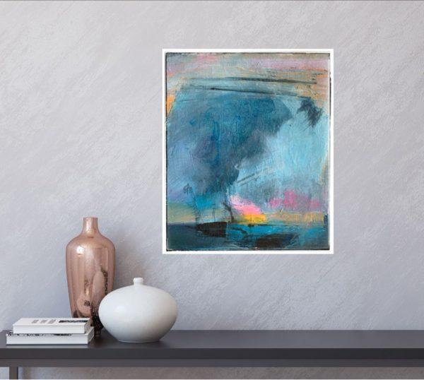 horizon abstract