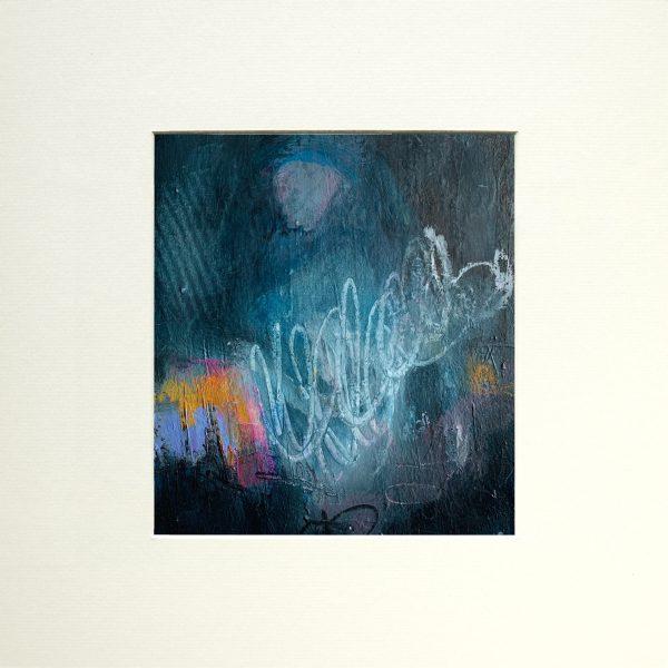 blue spirit abstract