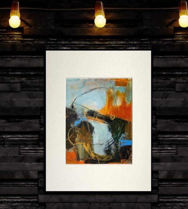 abstract acrylic bridge
